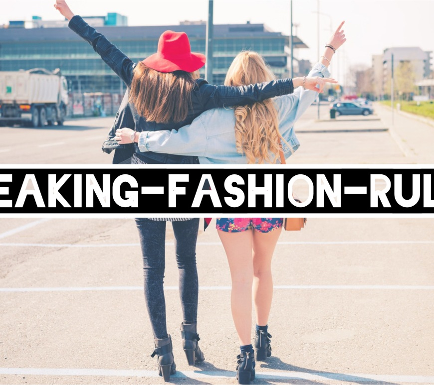 Breaking Fashion Rules #intheclosetgr In The Closet